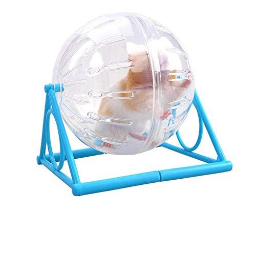 Toruiwa Hamster Laufball Hamster Trainning Ball Laufkugel Jogging-Ball mit Halter für Hamster Rennmäuse, Mäuse oder andere Kleintiere Zufällige Farbe