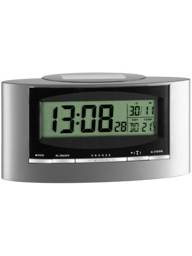 Basic Clocks 743608 Solar Funk-Wecker
