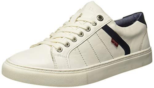 Levi's Men Indi Exclusive Regular White Sneakers-9 UK (43 EU) (10 US) (38099-1634)