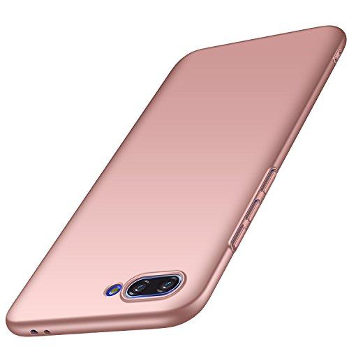 Huawei Honor 10 Hülle, Anccer [Serie Matte] Elastische Schockabsorption & Ultra Thin Design für Huawei Honor 10 (Glattes Rosen-Gold)