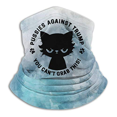 Garlincao Fotzen gegen Trumpf Sie können diesen Sturmhaube atmungsaktiven Gesichtsschutz Schal Mikrofaser Halswärmer für Unisex nicht greifen