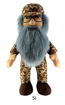 Duck Dynasty Si Character 24  Plush with Sound Toy