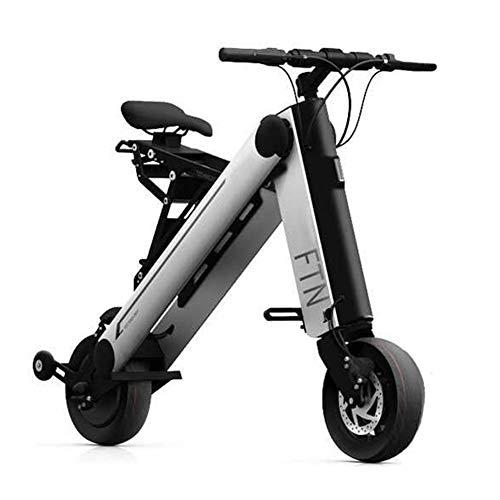 ZBB Bicicletas eléctricas Material Plegable de Aluminio portátil Ligero para Adultos con...