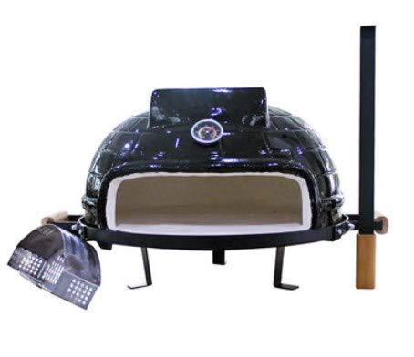 WG 21inch ceramic bbq grill,outdoor pizza oven, charcoal bbq grill,21