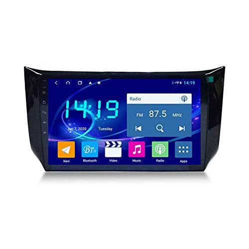Coche Estéreo Para Nissan Sylphy 2012-2018 Unidad De Cabeza 1080P 9 Pulgadas Pantalla Táctil Multimedia Video Player SAT NAV RADIO CON 4G WIFI SWC DSP Carplay GPS Navegación GPS,4 core 4g+wifi: 1+16gb