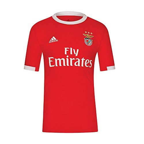SL Benfica Camisola Principal 19/20 (Cl9671) Equipación, Unisex Adulto, Rojo, M