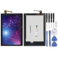 スペアパーツ レノボTB3-X70L ZA0Y TB3-X70F ZA0X TB3-X70NのTB3-X70(ブラック) LCDスクリーンとデジタイザのフルアセンブリ マウサー (Color : Black)