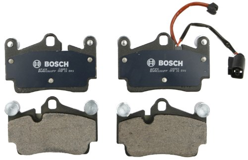 Bosch BP978 QuietCast Premium Semi-Metallic Disc Brake Pad Set For: Audi Q7; Porsche Cayenne; Volkswagen Touareg