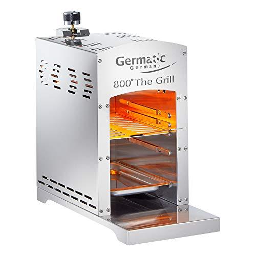 Germatic Bull Burner Edelstahl BBQ Gasgrill