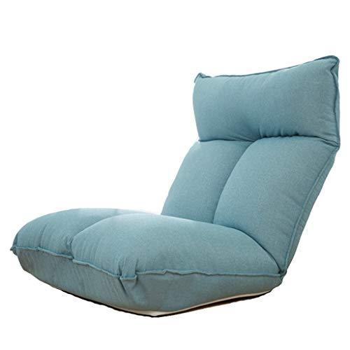 LSRRYD Klapstoel met verstelbare achterbank, voor bank en zitting, bekleed, als speelstoel, voor yoga, camping