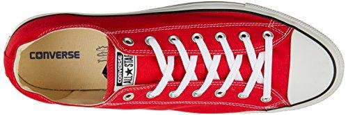 Converse Chuck Taylor All Star Ox, Zapatillas Unisex Adulto, Rojo (Tango Red 9696), 51.5 EU