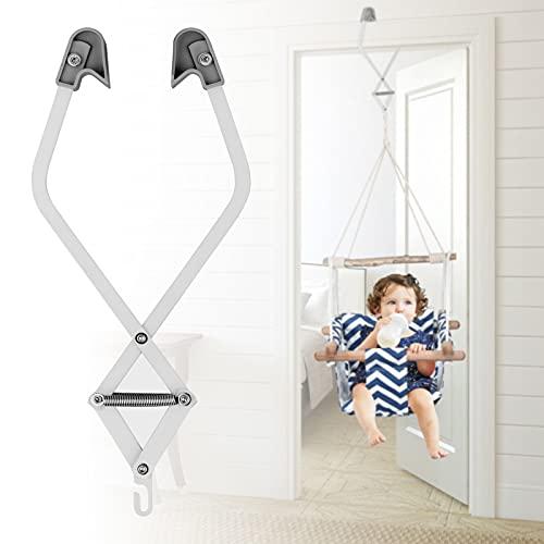InLoveArts clip de puerta para cuna para bebé hamaca para bebé cuna colgante abrazadera para puerta acero galvanizado hasta 16 kg