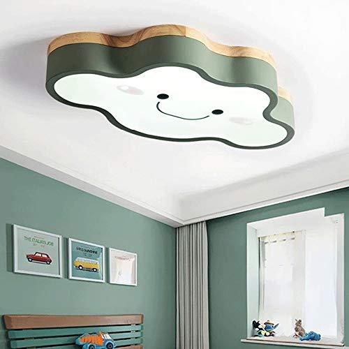Sunny Lingt Luce a soffitto for camera for bambini LED Creative Cloud Nidi ragazze Principessa Camera Illuminazione Camera da letto, Soffitto moderna acrilico metallo Apparecchio di illuminazione bian