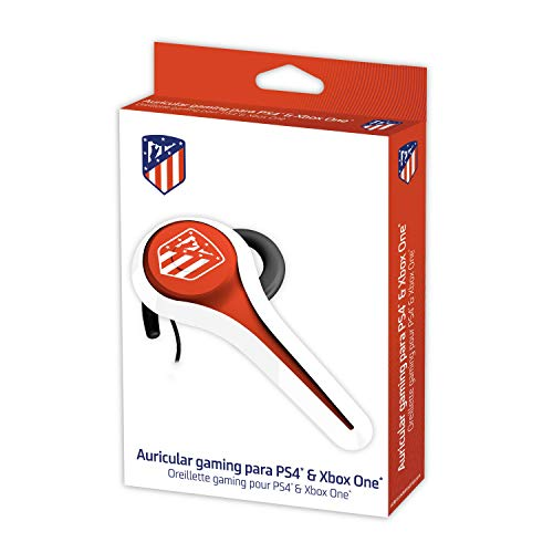 Subsonic - Headset Gaming und Headset ATM offiziellen lizenzierten Madrid Atletico kompatibel Playstation 4 - PS4 Pro - PS4 Slim - Xbox One - PS3 - Smartphone - Tablet - iphone 4 - iphone 5 iphone 6
