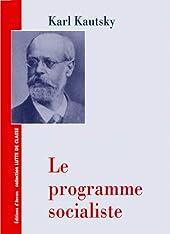 Le Programme Socialiste de Kautsky
