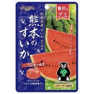 扇雀飴本舗 贅沢なグミ 熊本のすいか 34g×6入