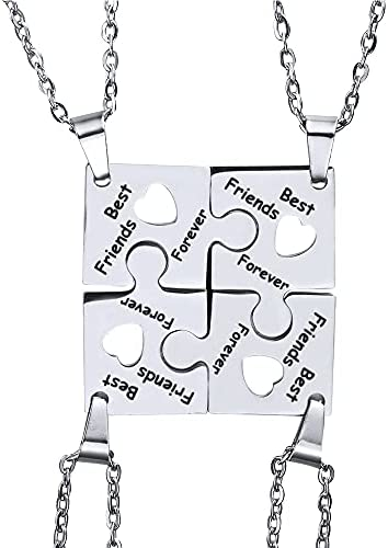 4 person friendship necklace _image4