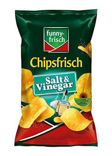 funny-frisch Chipsfrisch Salt & Vinegar, 10er Pack (10 x 175 g)