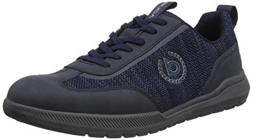 bugatti Herren Dollar Eco Sneaker, Dark Blue, 42 EU