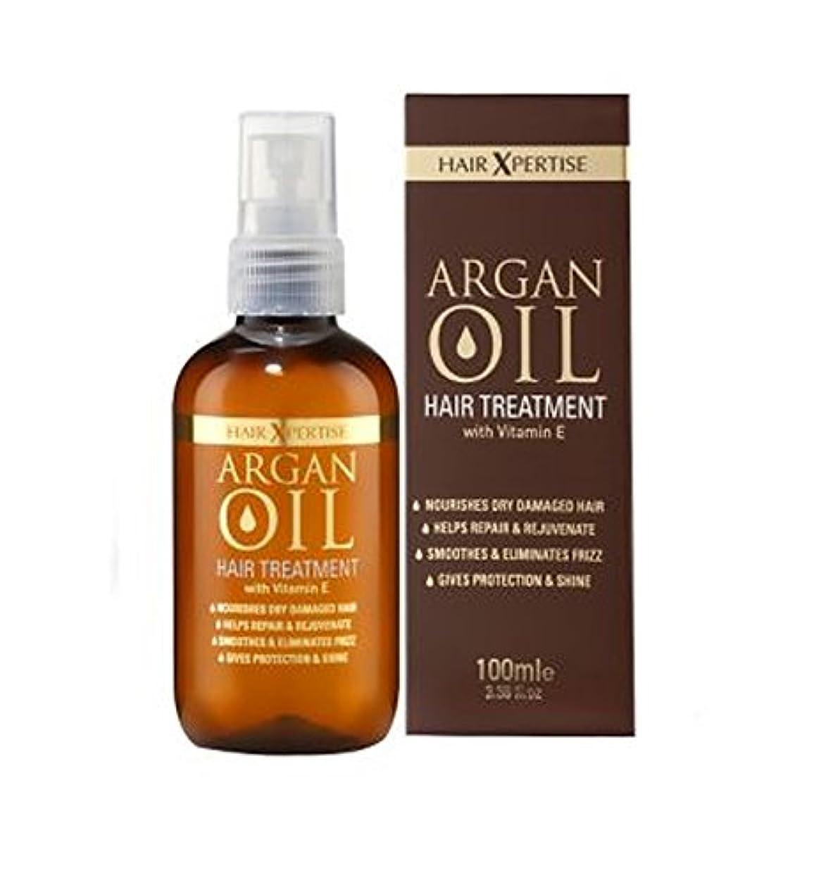 インフルエンザ電子レンジ軍アルガンオイルヘアトリートメント100ミリリットル (Argan Oil) (x2) - Argan Oil Hair Treatment 100ml (Pack of 2) [並行輸入品]