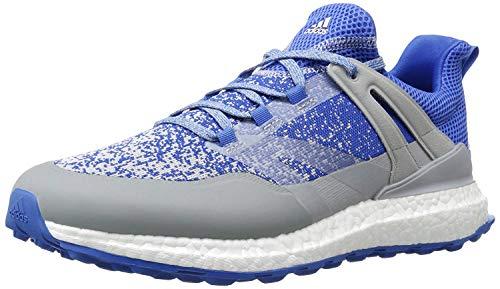 adidas Herren Crossknit Boost Golf Schuhe - Mehrfarbig (Blau / Grau / Weiß) , 44