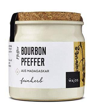 Bourbon Pfeffer Madagascar - Wajos Gewürzwelt 60g im Tontopf