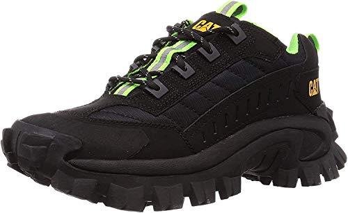 Caterpillar Unisex Intruder Nubuck Mesh Black Trainers 6-6.5 W / 5 M US
