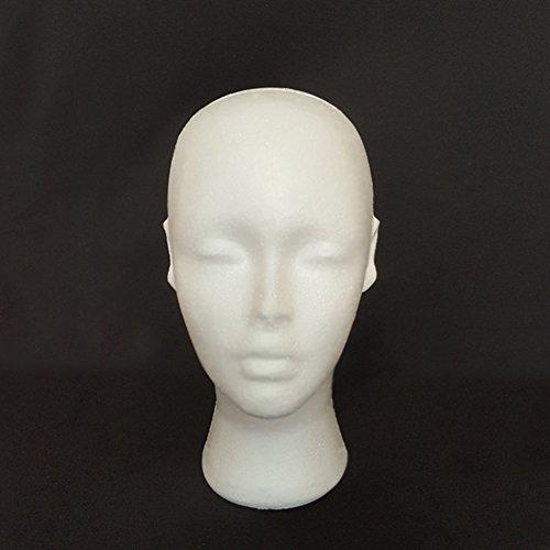 Weiblich Mannequin aus Head Schraubenmännchen Modell Gap Hat Perücke Shop Display Halter Ständer