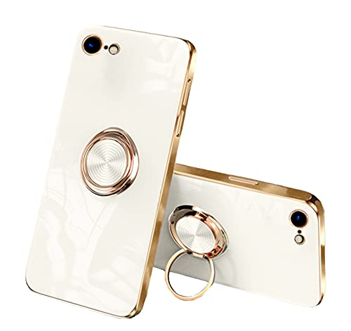 Funda compatible con Apple iPhone 8 Carcasa iPhone 7 Carcasa Silicona, Funda iPhone 8 Case en Grado de Aliviar Ansia y Stress Juguetes iPhone 7 Carcasa Azul (iPhone 7/iPhone 8, Blanco)
