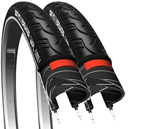 """CST 2 x Fahrradreifen 28\"""" Breaker Pannensicher 37-622 28x1 3/8 x1 5/8 Fahrrad Reifen mit Reflexstreifen (Ohne Schläuche)"""