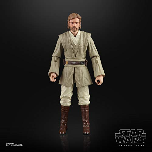 Star Wars The Black Series OBI-Wan Kenobi (Jedi Knight) Toy 6u0022 Scale Attack of The Clones Collectible Figure, Ages 4 & Up