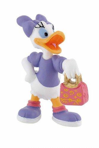 Bullyland 15343 - Spielfigur, Walt Disney Daisy, ca. 6 cm groß, liebevoll handbemalte Figur, PVC-frei, tolles Geschenk für Jungen und Mädchen zum fantasievollen Spielen