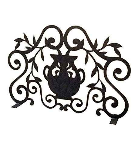 Find Bargain Meyda Tiffany 162748 Fireplace Screen from Urn Collection in Antique Finish, 7.00 inche...