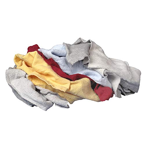 Buffalo Industries 10064PB Mehrfarbige recycelte Sweatshirt-Stoff-Lappen