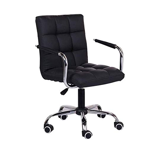 HIZLJJ Office Chairs Home Office Desk Chairs Furniture Computer Chair Home Office Chair Free Lift Swivel Chair Boss Chair Study Chair 360 Degree Rotation