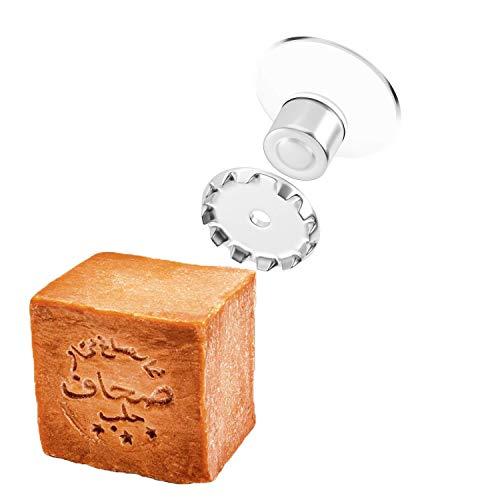 Porte-savon magnétique, taille XXL, extra puissant, innovant, écologique, économique et propre ; il peut contenir des savons allant jusqu'à 250g