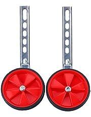 Zerone estabilizador de bicicleta, universal ajustable 12 – 20 pulgadas ruedas de apoyo de rueda de entrenamiento