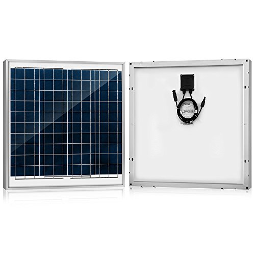 ACOPOWER 60 Watt 60W Polycrystalline Photovoltaic PV Solar Panel Module 12 Volt Battery Charging