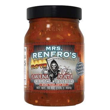 Mrs. Renfro's Carolina Reaper Salsa Hot, 454g
