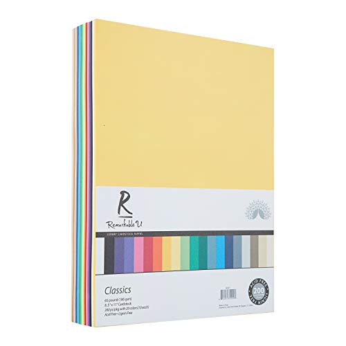 Coloured cardstock
