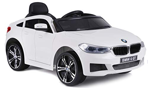 Ricco BMW6-GT Licensed Battery Powered Kids Electric Ride On Toy Car with...