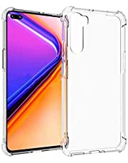 FanTing Cover compatible for Huawei P30 lite New Edition Case, [Soft TPU] [Four corner airbag] [Anti-scratch]. Transparent protective case is suitable for Huawei P30 lite New Edition.(Transparent)