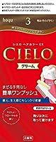ホーユー シエロ ヘアカラーEX クリーム 3 (明るいライトブラウン) ×6個