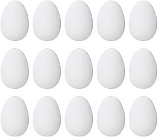 ledmomo 偽卵 鳥おもちゃ フェイクチキンエッグ 人工ネスト工巣の卵食品サンプルダミーハウスインテリア エッグ フェイクダミーエッグ 子