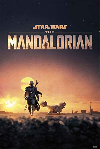Grupo Erik Poster, Star Wars The Mandalorian, 91 x 61 cm
