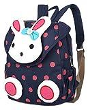 [page_title]-Jelinda Kinder Rucksack Rabbit Kleinkind Schultasche für Kindergarten Preschool (1-3Jahr)