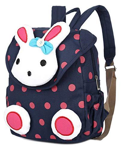 Jelinda Kinder Rucksack Rabbit Kleinkind Schultasche für Kindergarten Preschool (1-3Jahr)