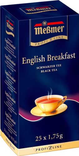 Meßmer ProfiLine English Breakfast 25 x 1.75 g, 3er Pack (3 x 44 g)
