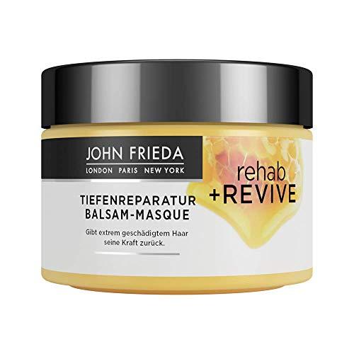 John Frieda Rehab + Revive Reparatur-Kur - Für extrem strapaziertes, geschädigtes Haar - Mit kostbarer Honig-Mischung, 250 ml