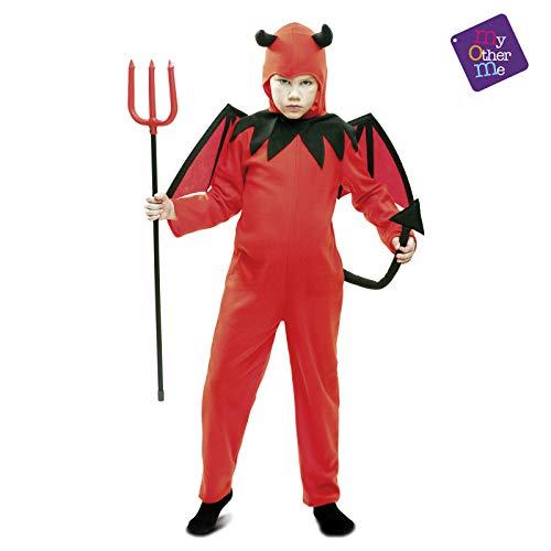 Déguisement petit diable Halloween enfant--7 à 9 ans